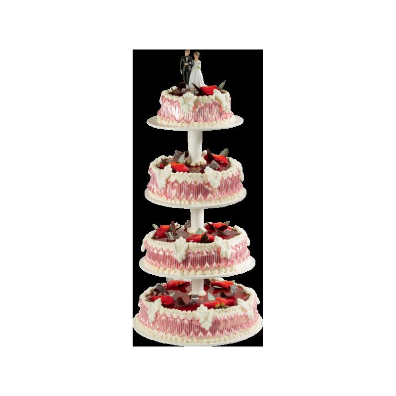 Pièce Montée Versailles Fraiser - Gâteau de mariage  - Pâtisserie La Romainville