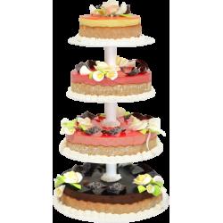 Pièce Montée Monte Carlo - Gâteau de mariage  - Pâtisserie La Romainville