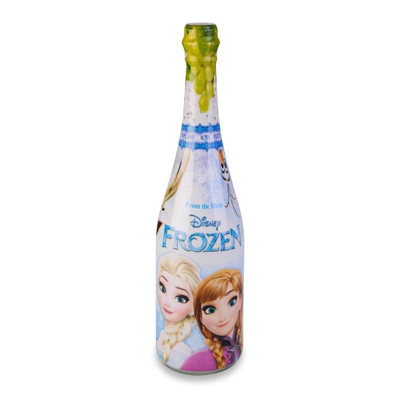 Bouteille Party Drink Reine des neiges - boisson anniversaires enfants - La Romainville