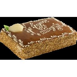 Poirier personnalisé - gâteau avec inscription - Patisserie La Romainville