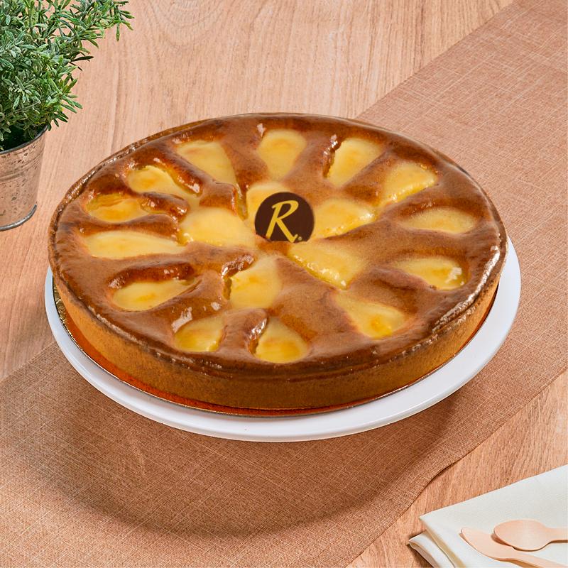tarte aux poires patisserie la Romainville