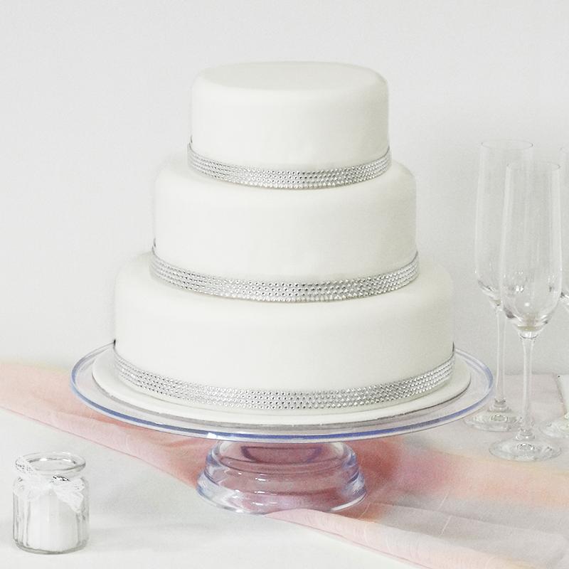 wedding cake diamant 3 etages