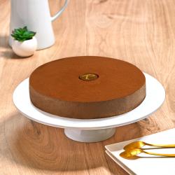 une délicieuse mousse au chocolat, par les pâtisseries La Romainville