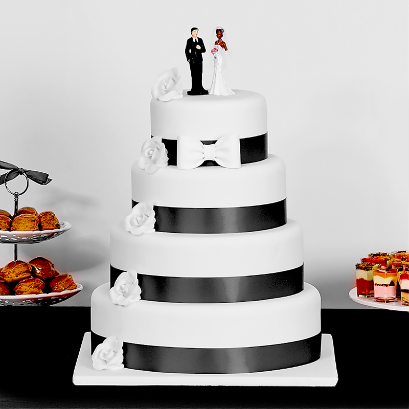 Wedding Cakes - Mariage - Marilyn noire