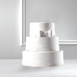 Wedding Cake blanc La Romainville Pièce Montée