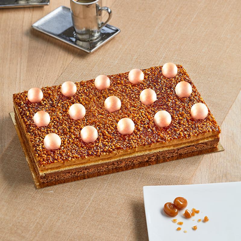 Bingo Caramel - entremets caramel - La Romainville