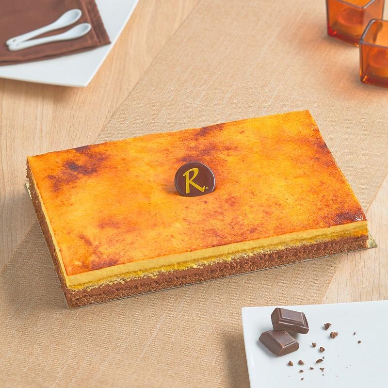Dessert San Marco - délicieux gâteaux à la crème vanille et nappage caramel - Pâtisserie La Romainville