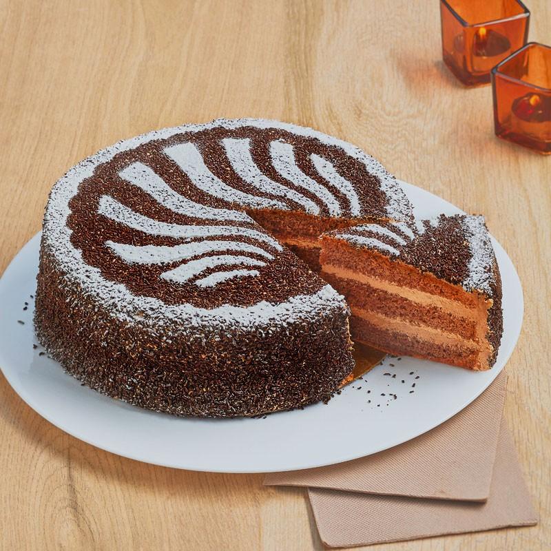 Gâteau Negresco - Moka chocolat - Pâtisserie La Romainville