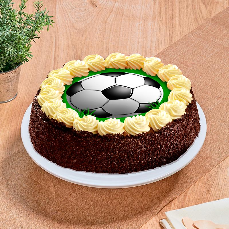 gâteau ballon de football